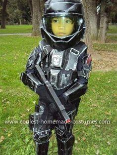 coolest little odst halo costume - Halo Reach Halloween Costume