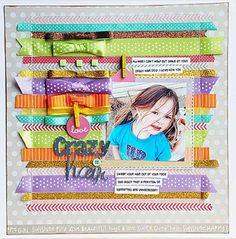 Becki Adams_Crazy Hair_AC Love the ribbon as a background