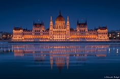 The Parliament, Budapest (Hungary) Places In Europe, Places To See, Places Ive Been, Beautiful World, Beautiful Places, Capital Of Hungary, European Travel, European Trips, Central And Eastern Europe