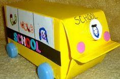 Milk Carton School Bus