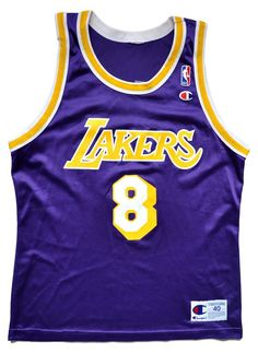 03ec53aa1 Kobe Bryant Los Angeles Lakers Replica Jersey - 40 M