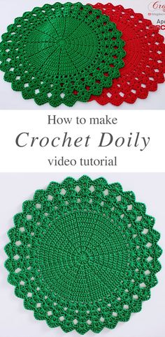 Learn how to make the beautiful crochet sousplat doily for year round holidays and celebrations. This gorgeous dolly is very simple to make and looks very elegant in your household. HOW TO MAKE THE CR Free Crochet Doily Patterns, Crochet Designs, Crochet Stitches, Crochet Hooks, Crochet Doily Diagram, Free Pattern, Sewing Patterns, Crochet Dollies, Lion Brand Yarn