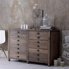 Vintage pine sideboards- seen something like this on aplacefor everything I think