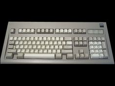 1988 IBM model M (industrial gray) Key Design, Ibm, Computer Keyboard, Industrial, Technology, Gray, Model, Products, Tech