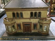 Stunning large early dolls house georgian or victorian design - extremely rare. Beautiful style and design. .....Rick Maccione-Dollhouse Builder www.dollhousemansions.com