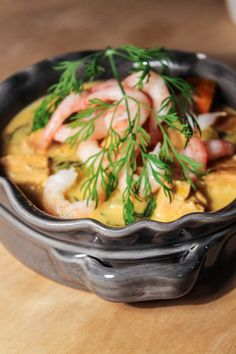 Creamy salmon chowder with shrimp 300 Calorie Lunches, Soup Recipes, Dessert Recipes, Salmon Chowder, Swedish Recipes, 300 Calories, Fish And Seafood, Gluten Free Recipes, Healthy Snacks