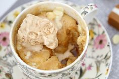 Microwave Butterscotch Self Saucing Pudding