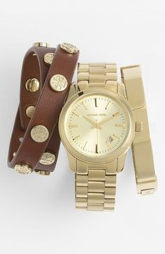 Gold Watch by MICHAEL Michael Kors. Buy for $225 from Nordstrom