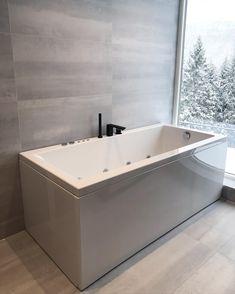 Corner Bathtub, Collaboration, Skiing, Bathroom, Interior, Instagram, Home, Lily, Ski