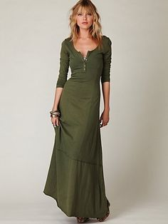 Maxi Dress. I would shorten to just below/above the knee.