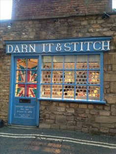 A nice stitching shop in Oxford
