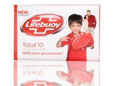 Lifebuoy Bar Soap Total 100% Better Germ Protection Life Boy Wrld#1 Germ Killer…
