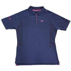 Harry Hall Ladies Maltby Navy Polo Shirt
