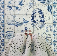 I Have This Thing With Floors ha compartido esta imagen realizada por Amanda Cassou de nuestra cerámica en el restaurante Bazaar by José Andrés.