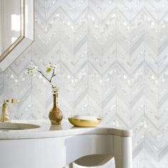 New Ravenna Mosaics Introduces New Tile Collections at KBIS Cleaning Bathroom Mold, Mold In Bathroom, Bathroom Modern, Bathroom Cabinets, Bathroom Fixtures, Small Bathroom, Master Bathroom, Stone Mosaic, Mosaic Tiles