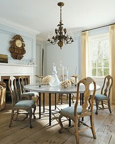 Gustavian style dining room
