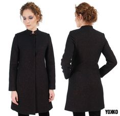 Life is better with the perfect jacket. Fashion Addict, Your Style, High Neck Dress, How To Make, Dresses, Design, Turtleneck Dress, Vestidos