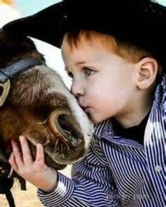 Photography Ideas #Cowboy #Kisses #Horse #CountryBoy