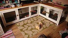 indoor rabbit hutch furniture - Google Search