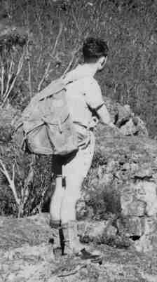Classic A frame rucksack, introduced by Paddy Pallin after WW2. I used a hand-me-down one of these when I first started bushwalking in the early 1970s.