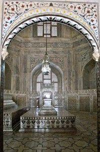 A look inside the Taj Mahal
