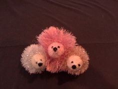 Baby Hedgehog Toy, by Patania on Etsy.