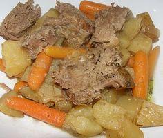 Slow Cooking Supper: Dijon Pork Roast     The Growing Foodie