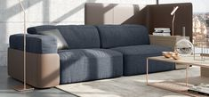 A seating system combined with open elements for countless combinations. Its cultured, restrained and sophisticated design makes this model an outstanding representative. Cosy Corner, Mo Design, Sofas, Couch, Interior Design, Furniture, Home Decor, Trends, Classic