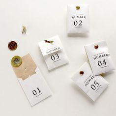 number bags | knoop works.