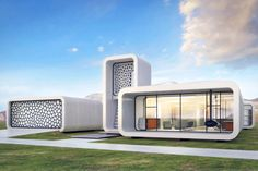 Dubai to print world's first 3D-printed office building (it'll just take a few weeks) | Inhabitat - Green Design, Innovation, Architecture, Green Building