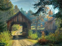 Covered bridge...for the driveway