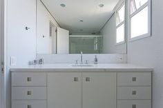 Amazingly Organized White Apartment in Brazil