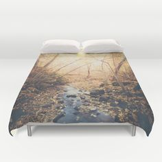 Buy ultra soft microfiber Duvet Covers featuring Blue cola mountain by HappyMelvin. Hand sewn and meticulously crafted, these lightweight Duvet Cover vividly feature your favorite designs with a soft white reverse side.