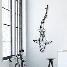 Minimalistic Animal Wall Signs Made From Just One Line - UltraLinx