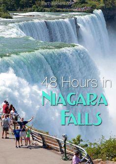 48 Hours in Niagara Falls with Kids