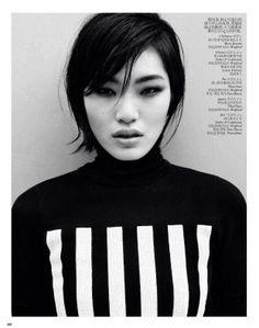 Chiharu Okunugi for Vogue China, February 2013