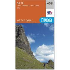 OS Map  Skye  Cuillin Hills  ILHA SKYEESCOCIA  Pinterest