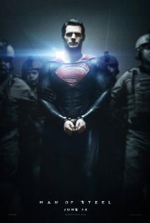 Man of Steel - very excited to see this one. I love Henry Cavill!