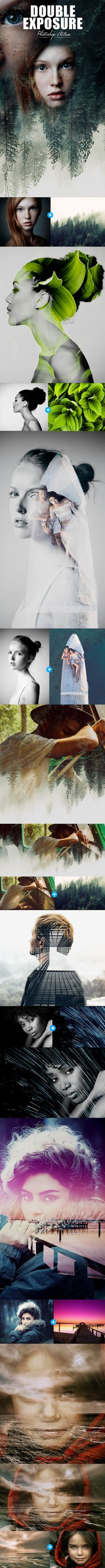 Double Exposure - Photo Effects Actions