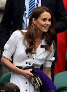 Kate Middleton makes surprise appearance at Wimbledon Duke William, Prince William And Catherine, William Kate, Princesse Kate Middleton, Kate Middleton Prince William, Andy Murray, Duchess Kate, Duke And Duchess, Windsor