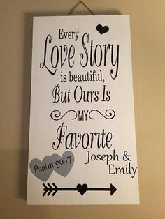 love story sign signs about love every love by SandJBargainVault