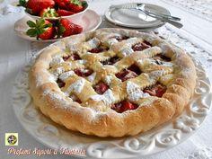 Crostata con crema di ricotta e fragole Blog Profumi Sapori & Fantasia