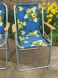 Attirant Painted Floral Deck Chair   Vintage Lifestyle | BUITE | Pinterest | Deck  Chairs, Decking And Gardens