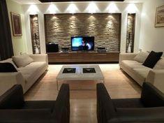 Image result for transitional tv room