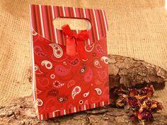 5 Stück Geschenkbox Faltschachtel 'Red Style' von SackundPack, €2.90