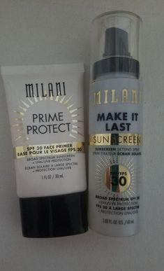Milani bundle primer & setting spray   Mercari Beauty Makeup, Face Makeup, Full Coverage Foundation, Makeup Deals, Lip Stain, Eye Palette, Setting Spray, Milani, Sunscreen