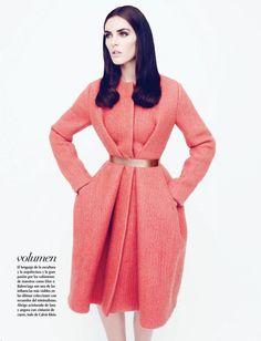 Hilary Rhoda by Nagi Sakai for Vogue Latin America