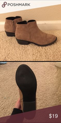 Ankle Booties - Taupe Tan/taupe short booties H&M Shoes Ankle Boots & Booties