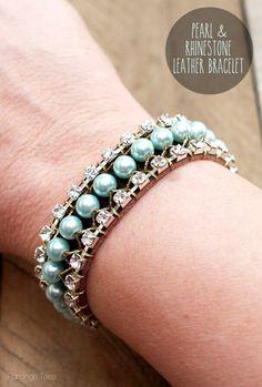 Light Blue Jewelry Making Tutorials