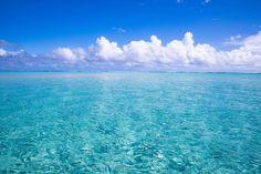 ハワイより断然こっち!鹿児島「百合ヶ浜」のサンドバーは最も天国に近い場所 | RETRIP[リトリップ] Beautiful Places In Japan, Sky Sea, Sea Fish, Japan Travel, Hawaii, Scenery, Waves, Ocean, Clouds